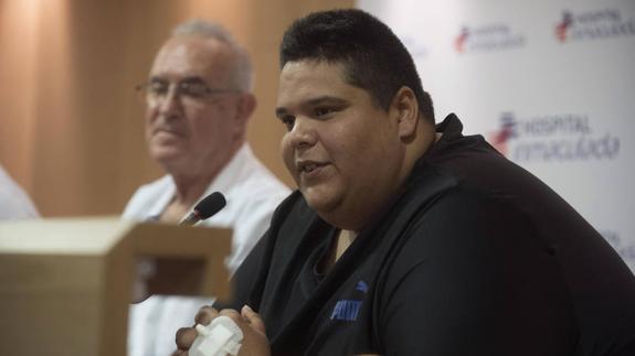 Cirugía de obesidad al hombre más obeso de España